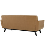 Modway Furniture Engage Bonded Leather Loveseat , Sofas - Modway Furniture, Minimal & Modern - 6