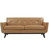 Modway Furniture Engage Bonded Leather Loveseat , Sofas - Modway Furniture, Minimal & Modern - 7