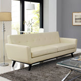 Modway Furniture Engage Bonded Leather Sofa , Sofas - Modway Furniture, Minimal & Modern - 12