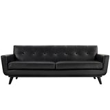Modway Furniture Engage Bonded Leather Sofa , Sofas - Modway Furniture, Minimal & Modern - 2
