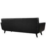 Modway Furniture Engage Bonded Leather Sofa , Sofas - Modway Furniture, Minimal & Modern - 3