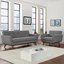 Modway Furniture Modern Engage Armchair and Loveseat Set of 2 - EEI-1346