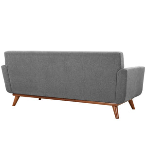 Modway Furniture Modern Engage Armchairs and Loveseat Set