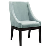 Modway Furniture Tide Wood Modern Dining Chair Light Blue, Dining Chairs - Modway Furniture, Minimal & Modern - 9