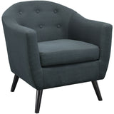 Modway Furniture Wit Armchair Gray, Armchair - Modway Furniture, Minimal & Modern - 13