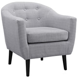 Modway Furniture Wit Armchair Light Gray, Armchair - Modway Furniture, Minimal & Modern - 9