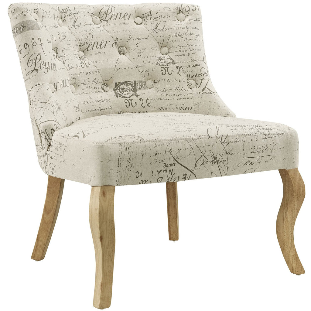 Modway Furniture Royal Fabric Armchair , Chairs - Modway Furniture, Minimal & Modern - 1