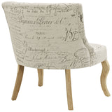 Modway Furniture Royal Fabric Armchair , Chairs - Modway Furniture, Minimal & Modern - 3