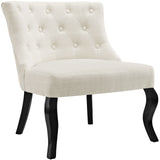 Modway Furniture Royal Fabric Armchair Beige, Chairs - Modway Furniture, Minimal & Modern - 13