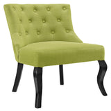 Modway Furniture Royal Fabric Armchair Wheatgrass, Chairs - Modway Furniture, Minimal & Modern - 5