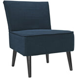 Modway Furniture Reef Fabric Side Chair Azure, Chairs - Modway Furniture, Minimal & Modern - 9