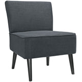 Modway Furniture Reef Fabric Side Chair Gray, Chairs - Modway Furniture, Minimal & Modern - 5