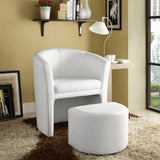 Modway Furniture Divulge Armchair and Ottoman , Armchair - Modway Furniture, Minimal & Modern - 5