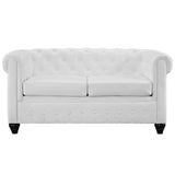 Modway Furniture Earl Vinyl Loveseat , Loveseat - Modway Furniture, Minimal & Modern - 2