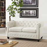 Modway Furniture Earl Fabric Loveseat , Loveseat - Modway Furniture, Minimal & Modern - 4