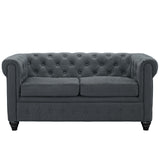 Modway Furniture Earl Fabric Loveseat , Loveseat - Modway Furniture, Minimal & Modern - 6