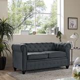 Modway Furniture Earl Fabric Loveseat , Loveseat - Modway Furniture, Minimal & Modern - 8