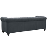 Modway Furniture Earl Fabric Sofa , Sofas - Modway Furniture, Minimal & Modern - 3