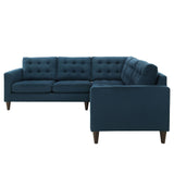Modway Furniture Empress 3 Piece Fabric Sectional Sofa Set , Sofas - Modway Furniture, Minimal & Modern - 2