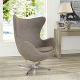 Modway Furniture Modern Glove Wool Lounge Chair , Chairs - Modway Furniture, Minimal & Modern - 18