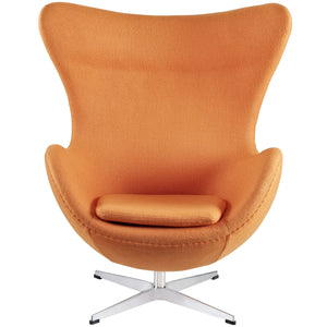 Modway Furniture Modern Glove Wool Lounge Chair EEI-142-Minimal & Modern