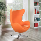 Modway Furniture Modern Glove Wool Lounge Chair , Chairs - Modway Furniture, Minimal & Modern - 14