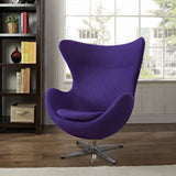 Modway Furniture Modern Glove Wool Lounge Chair , Chairs - Modway Furniture, Minimal & Modern - 9
