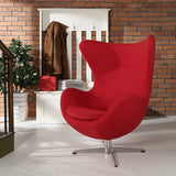 Modway Furniture Modern Glove Wool Lounge Chair , Chairs - Modway Furniture, Minimal & Modern - 4
