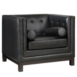Modway Furniture Imperial Armchair Black, Armchair - Modway Furniture, Minimal & Modern - 13