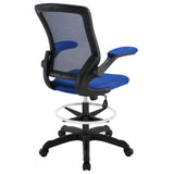 Modway Modern Veer Drafting Stool Adjustable Computer Office Chair - Minimal & Modern - 15