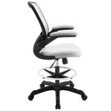 Modway Modern Veer Drafting Stool Adjustable Computer Office Chair - Minimal & Modern - 10