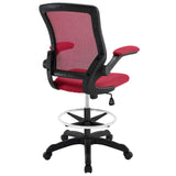 Modway Modern Veer Drafting Stool Adjustable Computer Office Chair - Minimal & Modern - 7