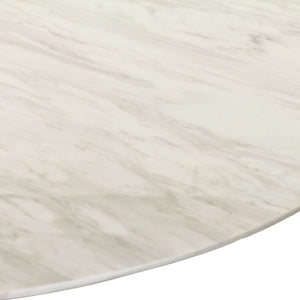 "Modway Furniture Lippa 48"" Marble Modern Dining Table EEI-143-Minimal & Modern"