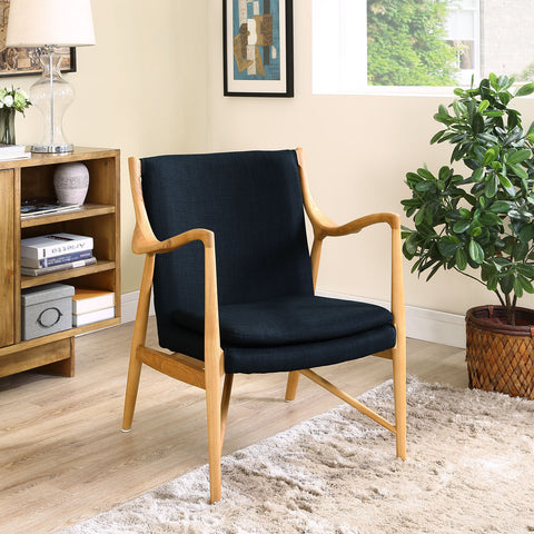 Modway Furniture Modern Makeshift Upholstered Lounge Chair
