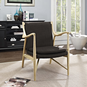 Modway Furniture Modern Makeshift Upholstered Lounge Chair EEI-1440-Minimal & Modern