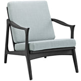 Modway Furniture Pace Armchair Black Light Blue, Armchair - Modway Furniture, Minimal & Modern - 21