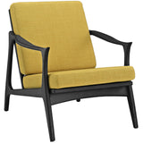 Modway Furniture Pace Armchair Black Yellow, Armchair - Modway Furniture, Minimal & Modern - 17