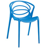 Modway Furniture Locus Modern Dining Side Chair Blue, Dining Chairs - Modway Furniture, Minimal & Modern - 5