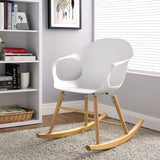 Modway Furniture Modern Swerve Rocking Chair , Chairs - Modway Furniture, Minimal & Modern - 4