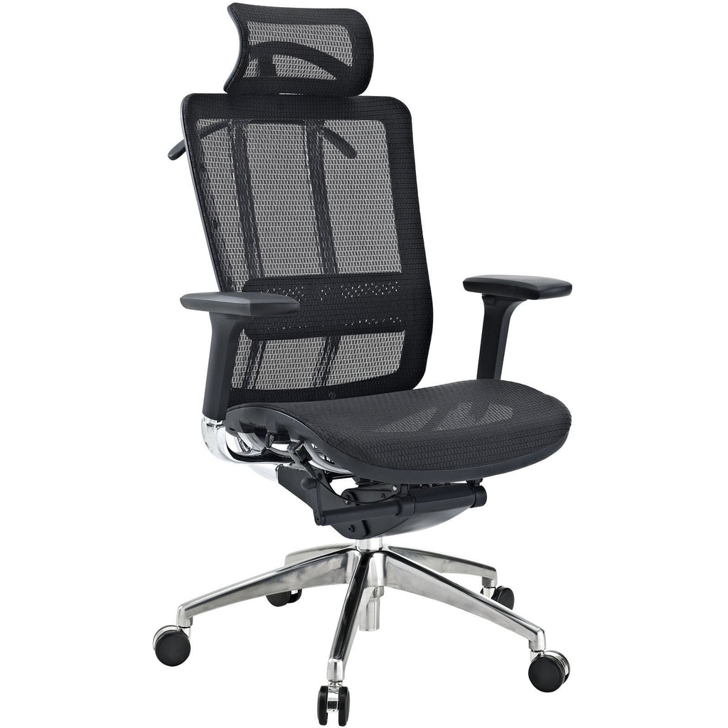 Modway Modern Future Adjustable Computer Office Chair - Minimal & Modern - 1