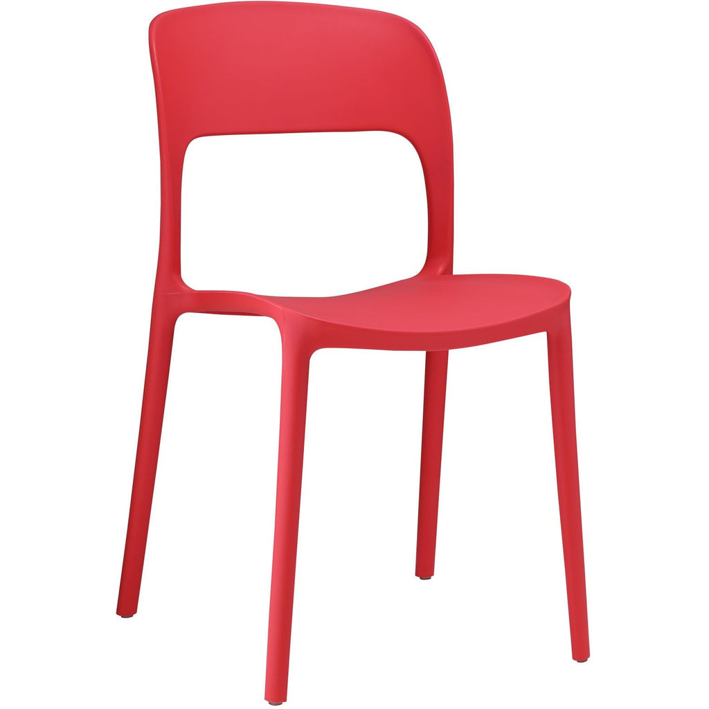 Modway Furniture Hop Modern Dining Chair Red, Dining Chairs - Modway Furniture, Minimal & Modern - 1