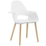 Modway Furniture Soar Modern Dining Armchair White, Dining Chairs - Modway Furniture, Minimal & Modern - 9