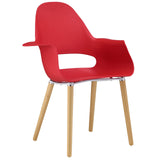 Modway Furniture Soar Modern Dining Armchair Red, Dining Chairs - Modway Furniture, Minimal & Modern - 5