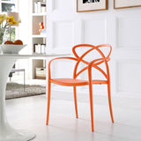 Modway Furniture Enact Modern Dining Armchair , Dining Chairs - Modway Furniture, Minimal & Modern - 8