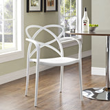 Modway Furniture Enact Modern Dining Armchair , Dining Chairs - Modway Furniture, Minimal & Modern - 16