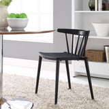 Modway Furniture Spindle Modern Dining Side Chair , Dining Chairs - Modway Furniture, Minimal & Modern - 4