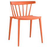 Modway Furniture Spindle Modern Dining Side Chair Orange, Dining Chairs - Modway Furniture, Minimal & Modern - 5