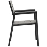 Modway Furniture Maine Dining Outdoor Patio Armchair , Bar and Dining - Modway Furniture, Minimal & Modern - 2