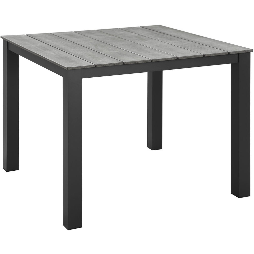 "Modway Furniture Maine 40"" Outdoor Patio Dining Table EEI 1507 – Minimal"