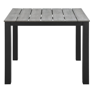 "Modway Furniture Maine 40"" Outdoor Patio Dining Table EEI-1507-Minimal & Modern"